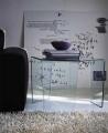 Konferenčný stôl sklenený do obývačky