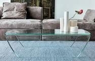 Moderné sklenené stoly do obývačky