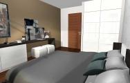 Návrhy  (vizualizácie) spálne