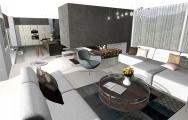 Návrhy interiérov domu , interiérový dizajn od KUCHYNEPRUNUS.SK