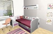 Návrhy interiérov bytov, vizualizácie