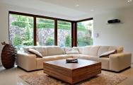 Luxusná  obývačka, nábytok na mieru