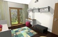 Návrhy detské izby, študentské izby