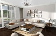 Vizualizácie obývačky vintage od kuchyneprunus.sk
