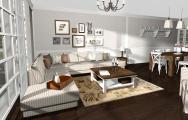 Vizualizácie obývačiek vintage od kuchyneprunus.sk