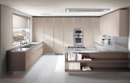 Kuchyňa v talianskom dizajne do bytu v decentnej zemitej farbe,krásne inšpirácie pozrite na www.kuchyneprunu.sk.