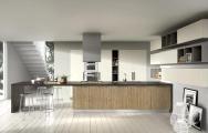 Moderné kuchyne v dome v súlade s interiérovým dizajnom