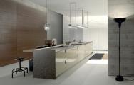 Luxusné kuchyne, Luxusné kuchyne spojené s obývačkou obrázky, Luxusné moderné kuchynské linky