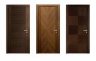 Moderné drevené dvere na mieru, atypy, bezfalcové