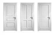 Moderné  interiérové dvere biele