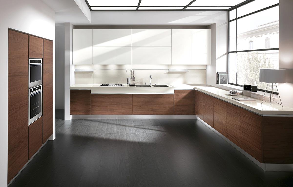Moderne kuchyne - Foto moderne inbouwkeuken ...