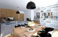 Grafické návrhy obývačky od kuchyneprunus.sk