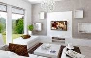 Kuchyňa s obývačkou a jedálňou zariadenie