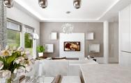 Návrh kuchyňa s obývačkou a jedálňou riešenie