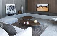 Návrh interiéru obývačky