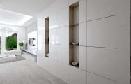 Návrh (vizualizácia) vstupnej haly v byte, interiérový dizajn, výroba nábytku na mieru I PRUNUS štúdio Bratislava