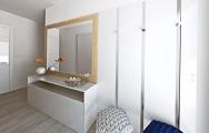 Návrh (vizualizácia) predizby v byte, interiérový dizajn, výroba nábytku na mieru I PRUNUS štúdio Bratislava
