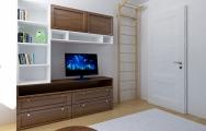 Detská chlapčenská izba na mieru, modro -biela, kazetový nábytok, výroba na mieru I PRUNUS štúdio