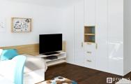 Detská izba pre dvoch chlapcov, návrh a výroba