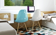 Moderný nábytok v študentskej izbe pre dve deti, návrh a výroba