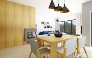Moderný jedálenský stôl, stoličky, výroba na mieru I PRUNUS štúdio