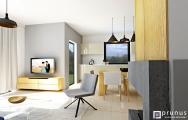 Moderná obývačka s kuchyňou 2