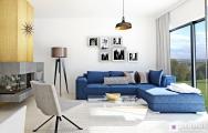 Moderná obývačka s kuchyňou 3