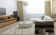 Návrh luxusnej obývacej izby