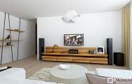 Dizajn zariadenia interiéru obývačky