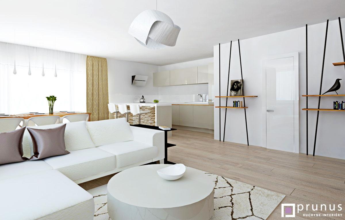 Návrh luxusného interiéru bytu Malé Krasňany I Prunus kuchyne interiéry