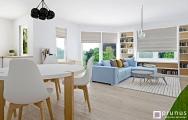 Návrh (vizualizácia) moderného interiéru bytu Senec,
