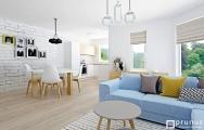 Moderný interiér bytu Senec, návrh (vizualizácia) a realizácia I PRUNUS štúdio