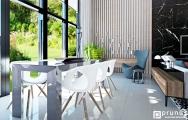 Interiérový dizajn domu, návrh a vizualizácia I PRUNUS štúdio