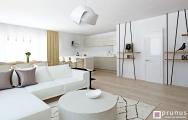 Interiérový dizajn bytu, návrh a vizualizácia I PRUNUS štúdio