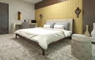 Dizajn nábytku luxusnej spálne na mieru
