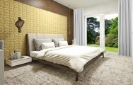 Dizajnový interiér luxusnej spálne na mieru