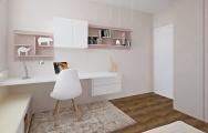 Dievčenská izba biela,inšpirácie,nábytok na mieru I PRUNUS štúdio