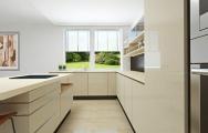 Moderná kuchynská linka s ostrovom, inšpirácie, dizajn