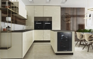 Kuchyňa s keramickou pracovnou doskou