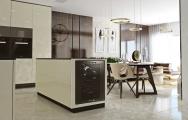 Luxusná kuchyňa so zabudovanou vinotékou