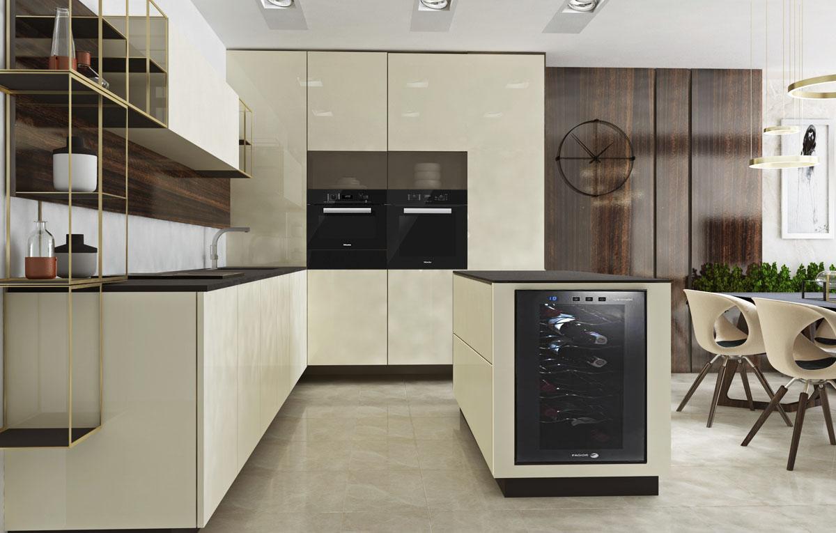 Návrh interiéru kuchyne - dizajn, inšpirácia I PRUNUS