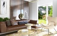 Interiér luxusnej obývačky - dizajn, vizualizácie I PRUNUS