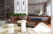 Vizualizácia dizajnovej obývačky I PRUNUS