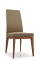 Dizajnová čalúnená kuchynská stolička
