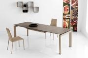 Kovové  stoličky hnedé do jedálne