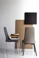 Moderné talianske stoličky látkové, kožené, sety