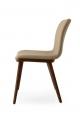 Jedálenská štýlová moderná stolička kožená, látková, koženka , drevená