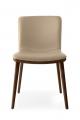 Moderné jedálenské stoličky krémové kožené, látkové