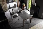 Moderné stoličky do jedálne šedé, dizajnové, drevené