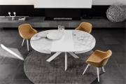 Moderné jedálenské kreslo a jedálenský stôl, set